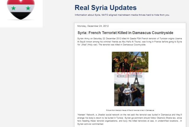 Real Syria Updates