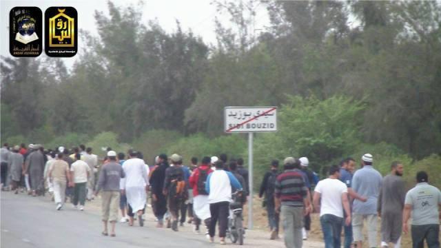 Túnez 11 caravana a Kairouan