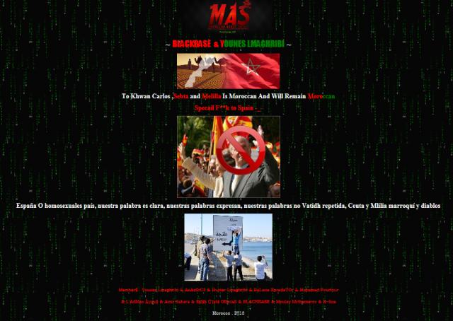 Hackers contra visita rey 3