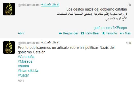 AQMI contra gobierno Cataluña 1