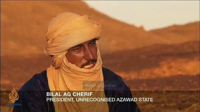 Bilal Ag Cherif lider del MNLA
