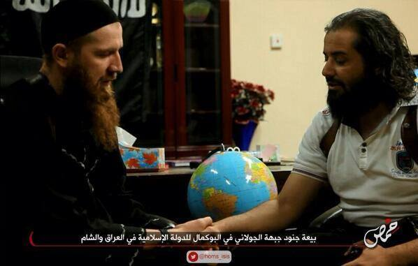 Abu Yusuf Al Misri (JaN) jura lealtad ISIS ante Omar al Shishani