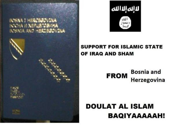 Support ISIS Bosnia 27-05-14
