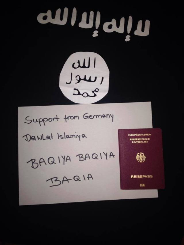 Support ISIS Germany 27-05-14