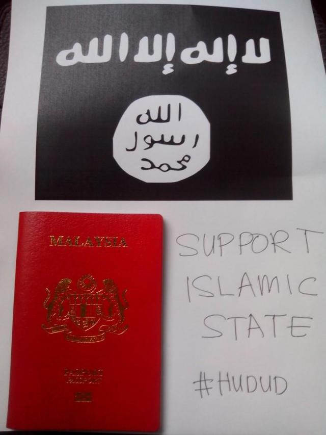 Support ISIS Malasia 27-05-14