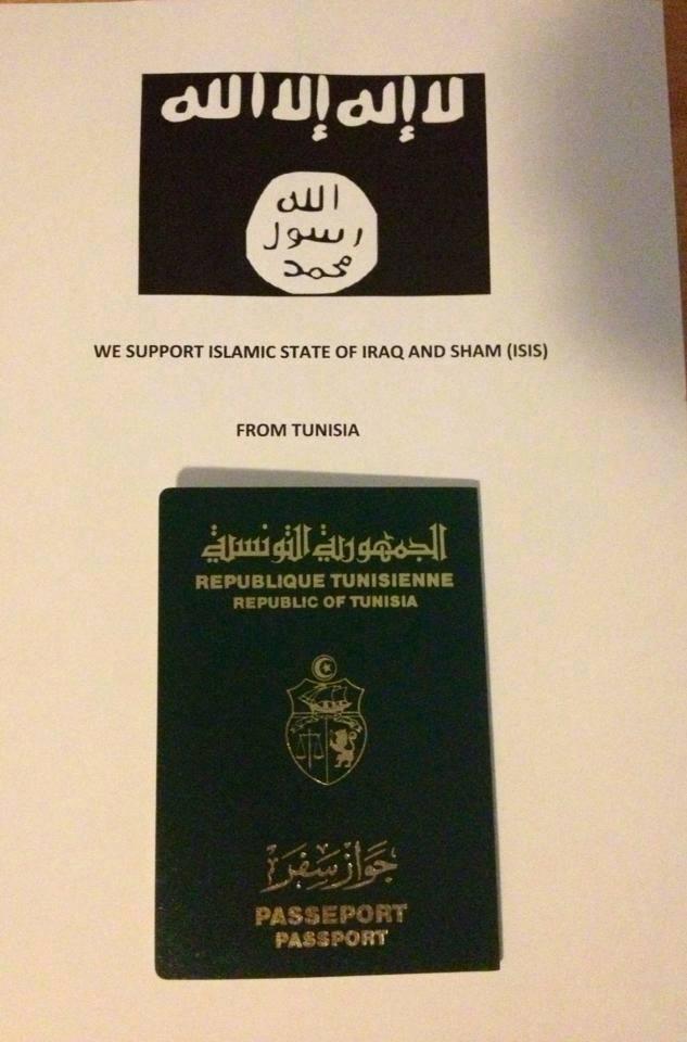 Support ISIS Túnez 27-05-14