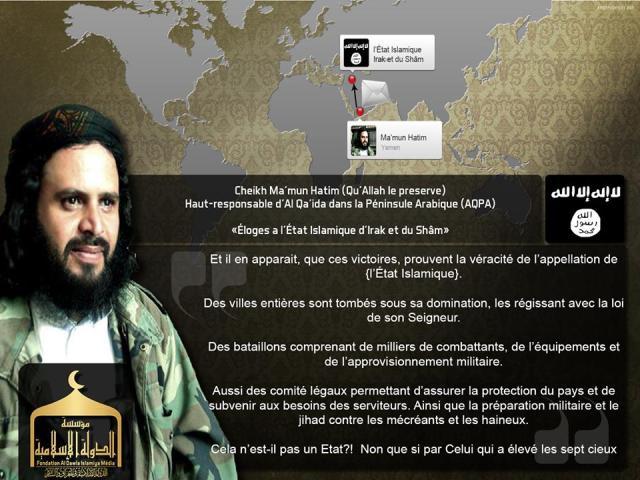 AQAP elogia ISIS 29-06-14