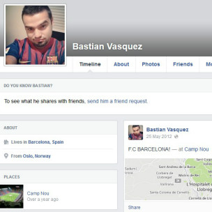 Bastian Vasquez Facebook