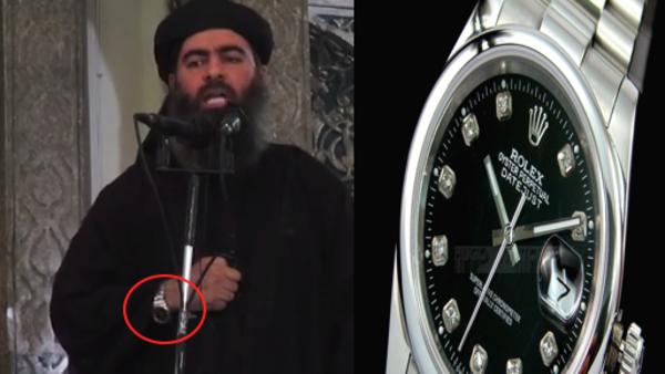 Califa Ibrahim & Rolex