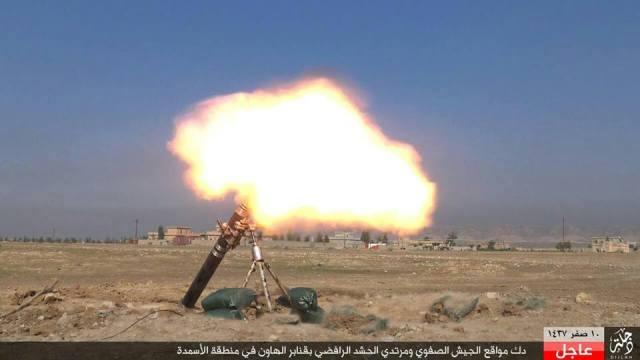 Bombardeo con morteros en Al Asmadah 23-11-15
