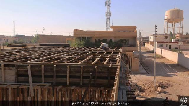 Construcción mezquita en Tal Afar 24-11-15
